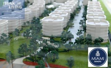 Miami Bangpu คอนโด Low Rise 5 ชั้น บนถนนสุขุมวิท ติดทะเล ตรงข้ามเยื้องๆกับเมืองโบราณ มี Community Mall อยู่ด้านหน้า [รีวิวฉบับที่ 578]