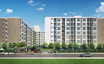 ศุภาลัย City Resort คอนโด Lowrise 2 อาคาร ใกล้สถานีแบริ่ง จาก ศุภาลัย [รีวิวฉบับที่645]