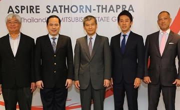 AP ร่วมทุนอย่างเป็นทางการกับ Mitsubishi Estate เดินหน้าเปิด Aspire สาทร – ท่าพระ