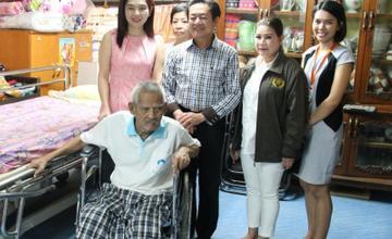 ออริจิ้น  พร็อพเพอร์ตี้  จับมือ เทศบาลสำโรงเหนือ ช่วยเหลือผู้ป่วยชุมชน