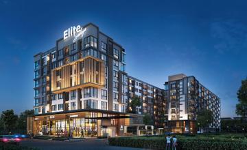 Elite Salaya คอนโด Low Rise 8 ชั้น ถนนบรมราชชนนี จ.นครปฐม จาก Elite Plus Developments [PREVIEW]