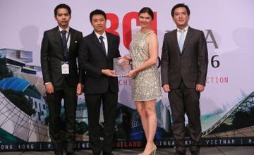 SC ASSET รับรางวัล BCI ASIA AWARDS 2016 ต่อเนื่องเป็นปีที่ 5