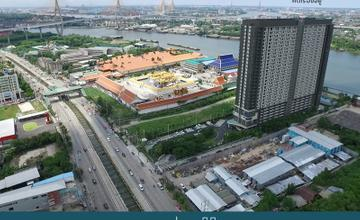 พาชมตึกเสร็จ U Delight Residence Riverfront พระราม 3 คอนโด High Rise ติดแม่น้ำเจ้าพระยา สูง 30 ชั้น บนถนนพระราม 3 จาก Grand U [รีวิวฉบับที่ 1139]