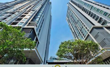 พาชมตึกเสร็จ QUINN รัชดา 17 คอนโด High Rise ตึกคู่ ใกล้ MRT สุทธิสาร จาก MBK [รีวิวฉบับที่ 1194]