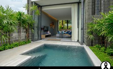 X2 Pattaya Oceanphere บ้านพักตากอากาศ Pool Villa สไตล์ Modern Luxuryโดย Habitat Group [รีวิวฉบับที่ 1230]