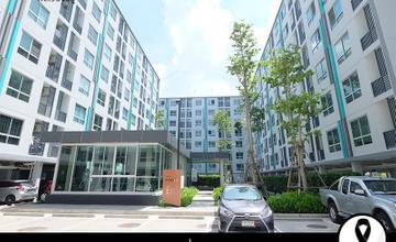 พาชมตึกเสร็จ Niche Id เสรีไทย คอนโด Low Rise ตึกคู่ บนถนนเสรีไทย ใกล้สวนสยาม จากเสนาฯ [รีวิวฉบับที่ 1334]