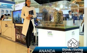 Ananda นำ 14 คอนโดคุณภาพพร้อมราคาและข้อเสนอสุดพิเศษ ร่วมงาน ThinkofLiving in Central Ladprao
