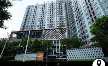 พาชมตึกเสร็จ Aspire สาทร-ตากสิน (Copper Zone) คอนโด High Rise 21 ชั้น บนถนนราชพฤกษ์ ห่าง BTS วุฒากาศประมาณ 600 ม. จาก AP [รีวิวฉบับที่ 1380]