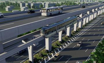 รถไฟฟ้าสายสีน้ำตาล แคราย-บึงกุ่ม: สรุปผลการศึกษาโดยสนข.