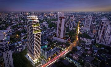 The FINE Bangkok ทองหล่อ-เอกมัย คอนโด High Rise 31 ชั้น ใกล้ BTS สถานีเอกมัย จาก Sankyo Home (Thailand) และ Keihan Realestate [PREVIEW]