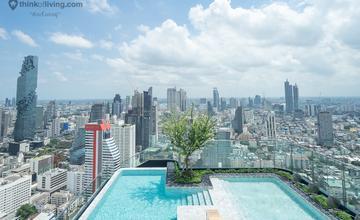 พาชมตึกเสร็จ Ashton Chula – Silom คอนโดใกล้ MRT สามย่าน พร้อมสระว่ายน้ำ Olympic ที่ชั้น 49 รับวิวเมือง จาก Ananda