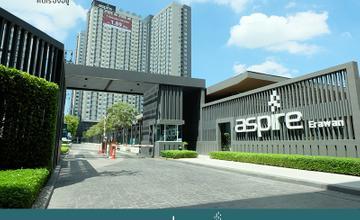 พาชมตึกเสร็จ Aspire Erawan คอนโดติด BTS สถานีช้างเอราวัณ ในย่านสมุทรปราการ จาก AP [รีวิวฉบับที่ 1691]