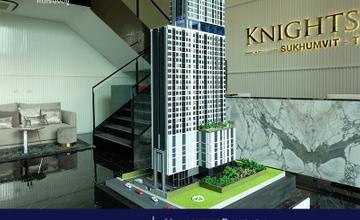 Knightsbridgeสุขุมวิท-เทพารักษ์ คอนโด High Rise 35 ชั้น ติดรถไฟฟ้าสายสีเหลือง MRT สถานีทิพวัล จาก Origin  [รีวิวฉบับที่ 1808]
