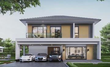 Centro วงแหวน – จตุโชติ บ้านเดี่ยว 2 ชั้น ในซอยวงศกร 1 ใกล้ทางด่วนรามอินทรา-อาจณรงค์ จาก AP [PREVIEW]
