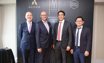 """มอนท์เอซัวร์ จับมือ แอคคอร์ เปิดตัว """"เอ็มแกลเลอรี เรสซิเดนซ์"""" แห่งแรกในไทย"""