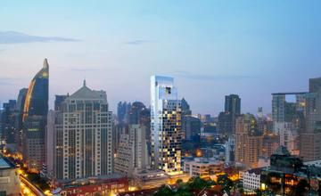 Scope หลังสวน คอนโด High Rise 34 ชั้น ใกล้ BTS ชิดลม โดย  บริษัท สโคป จำกัด [Preview]