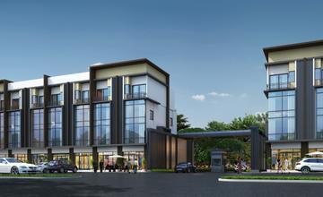 City Link พระราม 9 – ศรีนครินทร์ ทาวน์โฮมและโฮมออฟฟิศบนถนนกาญจนาภิเษก ใกล้มอเตอร์เวย์ จาก A BEST Estate [PREVIEW]