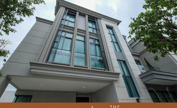 พาชมบ้านตัวอย่าง THE SONNE ศรีนครินทร์ – บางนา บ้านแฝด 3 ชั้น ในซอยเฉลิมพระเกียรติรัชกาลที่ 9 ซอย 28 จาก AP