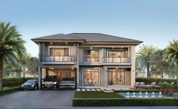 The Palm กรุงเทพกรีฑา – วงแหวน บ้านเดี่ยว 2 ชั้น บนถนนคู่ขนานวงแหวนกาญจนาภิเษก จาก พฤกษา [PREVIEW]
