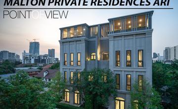 สัมผัสบ้านสุดหรูย่านอารีย์ Malton Private Residences Ari [Point of View ตอนที่ 43]