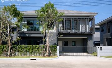 Centro บางนา – กิ่งแก้ว บ้านเดี่ยว 2 ชั้น บนถนนกิ่งแก้ว ใกล้สนามบินสุวรรณภูมิ และ Mega บางนา จาก AP [รีวิวฉบับที่ 2013]