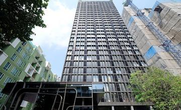 พาชมตึกเสร็จ NOBLE BE33 คอนโด High Rise ในซอยสุขุมวิท 33 ใกล้ Emquartier จาก NOBLE