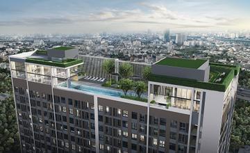 คอนโดอะไรราคาล้านต้นๆ มีสระว่ายน้ำและฟิตเนส อยู่บนชั้น Rooftop สูงที่สุด วิวดีที่สุด ในงามวงศ์วาน เริ่ม 1.59 ล้าน*