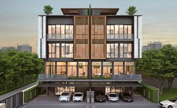 Metier Rama 9 โฮมออฟฟิศหรู 5 ชั้น ในซ.รามคำแหง15 ติด The Mall รามคำแหง จาก W&W Property[PREVIEW]