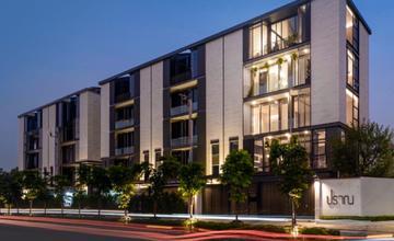 ปราณ บ้านหรู 5 ชั้น 5 ยูนิตในซอยพัฒนาการ 32 ราคาเริ่มต้น 29.9 ล้านบาท จาก Jyeland [PREVIEW]