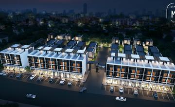 Merit Place บางนา บ้านแฝดและโฮมออฟฟิศ ใกล้ Mega บางนา จาก บริษัท สุวรรณภูมิ เออีซี จำกัด [PREVIEW]