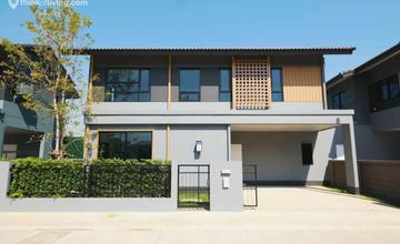 อณาสิริ รังสิต-คลอง 2 บ้านเดี่ยวและบ้านแฝดหน้ากว้าง สไตล์ญี่ปุ่น บนถนนรังสิตนครนายก-คลอง 2 จากแสนสิริ [Walk-in Review]