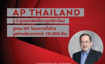 AP (Thailand) เปิดแผนธุรกิจปี 2564 เตรียมเปิด 34 โครงการ มูลค่า 43,000 ลบ.