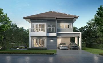 The One Life บางนา โครงการบ้านเดี่ยวและบ้านแฝด หน้ารร.สาธิตมหาวิทยาลัยรามคำแหง 2 จาก Number One Housing Development [PREVIEW]