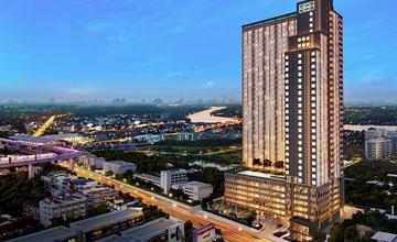 Niche id @ Pakkret Station คอนโด High Rise 35 ชั้น ติดถนนติวานนท์ ใกล้รถไฟฟ้าสีชมพู จาก Sena [PREVIEW]