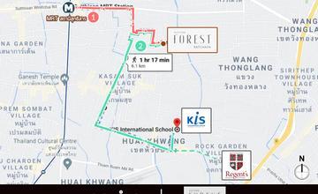 รีวิวทำเล Altitude Forest รัชดา ทาวน์โฮมใกล้ MRT สุทธิสาร จาก Altitude Development