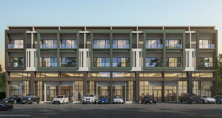 Workplace สายไหม – พหลโยธิน โฮมออฟฟิศ 3 ชั้นครึ่ง สไตล์ Modern Loft ในซอยสายไหม 56 จาก SC ASSET[PREVIEW]